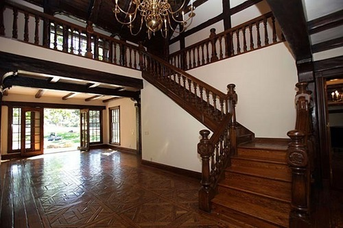 Neverland house entry way