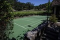 Neverland house tennis court