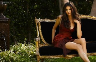 Nina Dobrev (Elena) on John Russo 2010 photo shoot