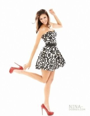 Nina Dobrev (Elena) on John Russo 2010 litrato shoot