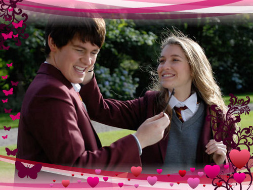 The House of Anubis wallpaper called Nina and Fabian