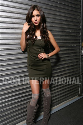 Nina Dobrev wallpaper containing a hip boot titled Nina photoshoot for the magazine Girls Life
