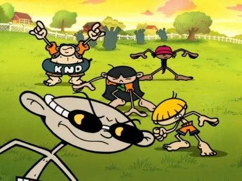 Codename: Kids Next Door wallpaper containing anime entitled No P in ool