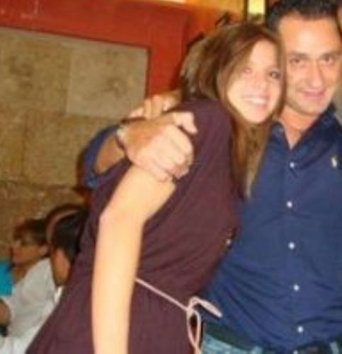 Nuria Thomas and her ex boyfriend 2
