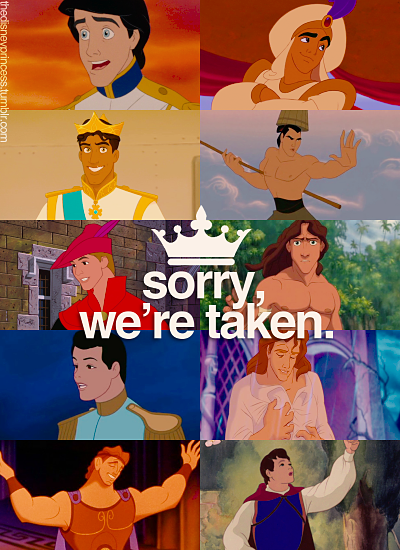 Princes and Non Prince... Childhood Ruined Toy Story