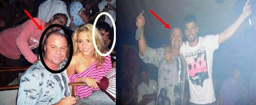 Proof: Shakira and Piqué were in the same club with Nicu Gheara