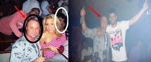 Proof: shakira and Piqué were in the same club with Nicu Gheara