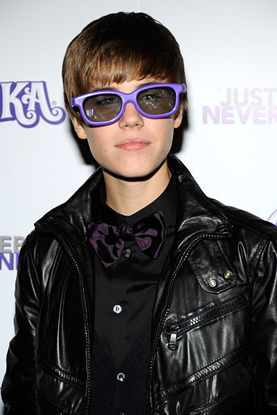 Purple Glasses - Justin Bieber 400x600