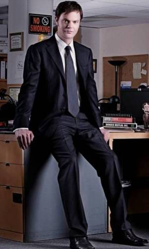 Rainn Wilson wallpaper containing a business suit, a suit, and a well dressed person called Rainn fan art