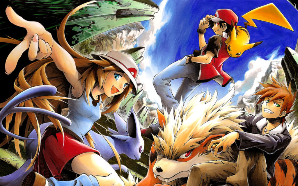 Red, Blue, and Green - Pokémon Adventures Photo (19407950 ...