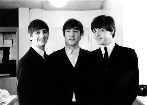 Ringo, John and Paul