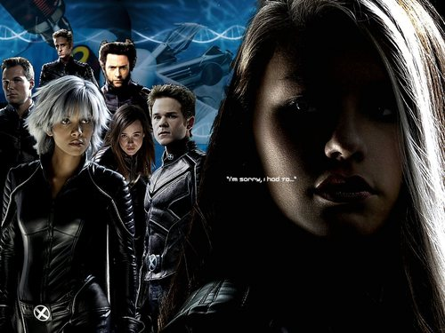 "X-men THE MOVIE wallpaper possibly with a well dressed person, a hip boot, and a portrait entitled Rogue ""I Had To"""