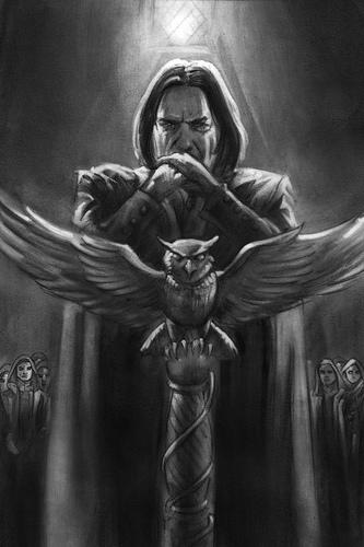 SPOILER: DH Part 2 Headmaster Snape