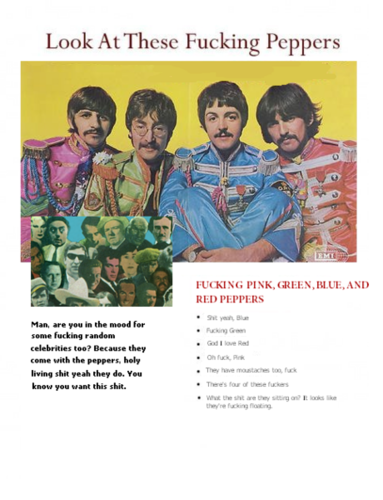 Sgt. Pepper's Lonley Hearts Club Band - Extreme Advertising