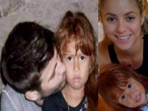 Shakira and Piqué are a beautiful family ! - shakira-and-gerard-pique Wallpaper