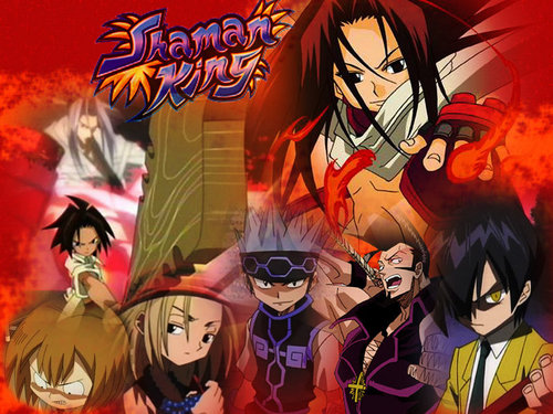 Shaman King karatasi la kupamba ukuta containing anime titled Shaman King<3