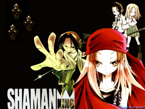 Shaman King wallpaper possibly with anime entitled Shaman king<3