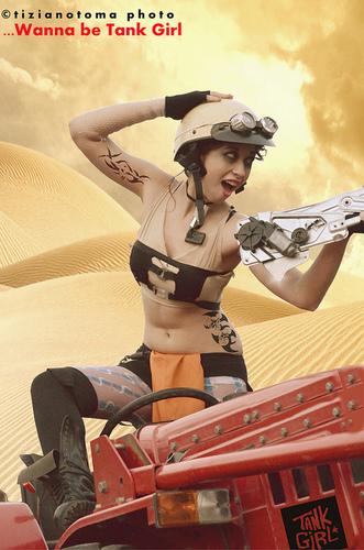 Shoting : ...Wanna be Tank Girl