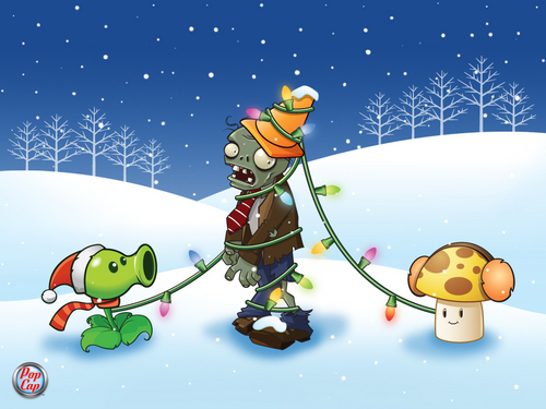 Snow time plants vs zombies