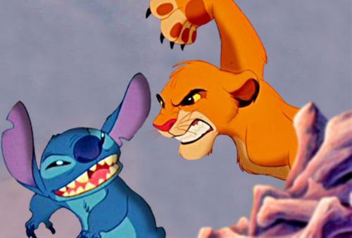 Stitch vs. Simba