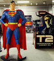 Superman Statue that was once at Neverland