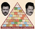 Swanson Pyramid Of Greatness - parks-and-recreation photo