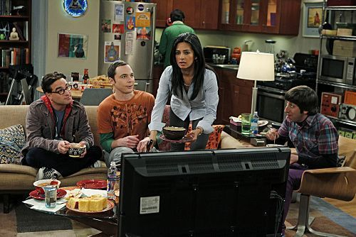 TBBT - S04E17 - The crostini, pane tostato Derivation - Promo foto
