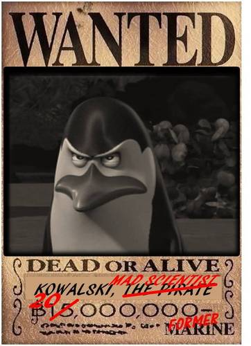 THE MAD SCIENTIST, KOWALSKI [dead or alive poster]