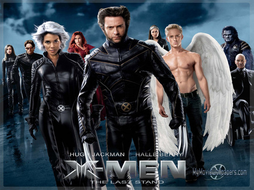 X-men THE MOVIE wallpaper probably containing a well dressed person entitled The Last Stand