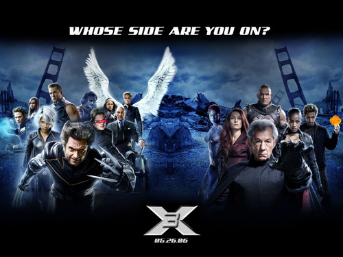 X-men THE MOVIE wallpaper with anime entitled The Last Stand