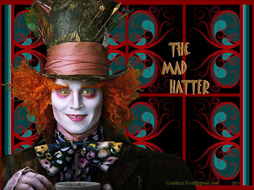 Alice in Wonderland (2010) wallpaper entitled The Mad Hatter