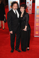 Tim and Helena at the BAFTAs - helena-bonham-carter-tim-burton photo
