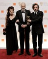 Tim and Helena at the BAFTAs