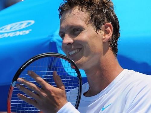 Tomas Berdych smile 2010