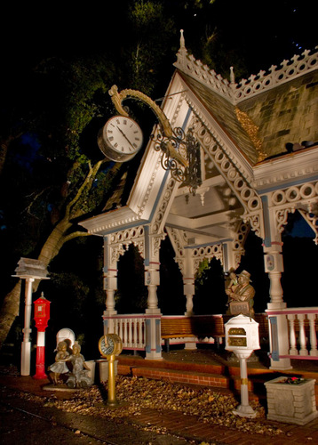 Train Station at the Neverland House