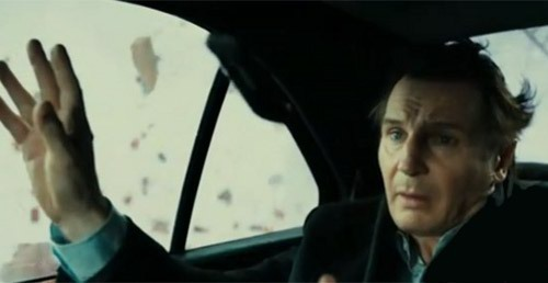 Liam Neeson wallpaper possibly containing an automobile entitled Unknown