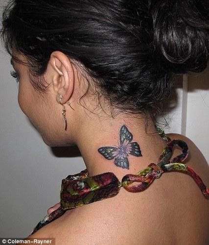 Vanessa's New Tatto
