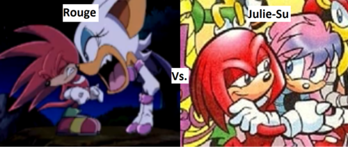 Who's Nicer to Knuckles?