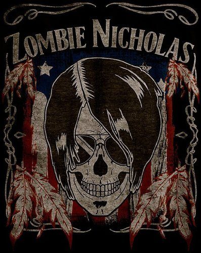 Zombie★Nicholas★Wiggins★ wallpaper possibly with a sign titled Zombie Nicholas
