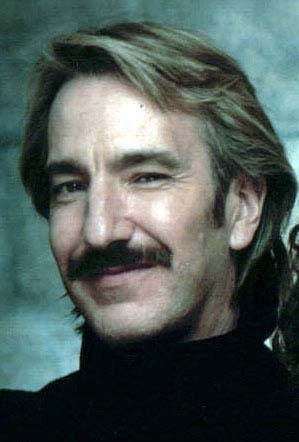 Alan Rickman karatasi la kupamba ukuta with a portrait entitled alan rickman