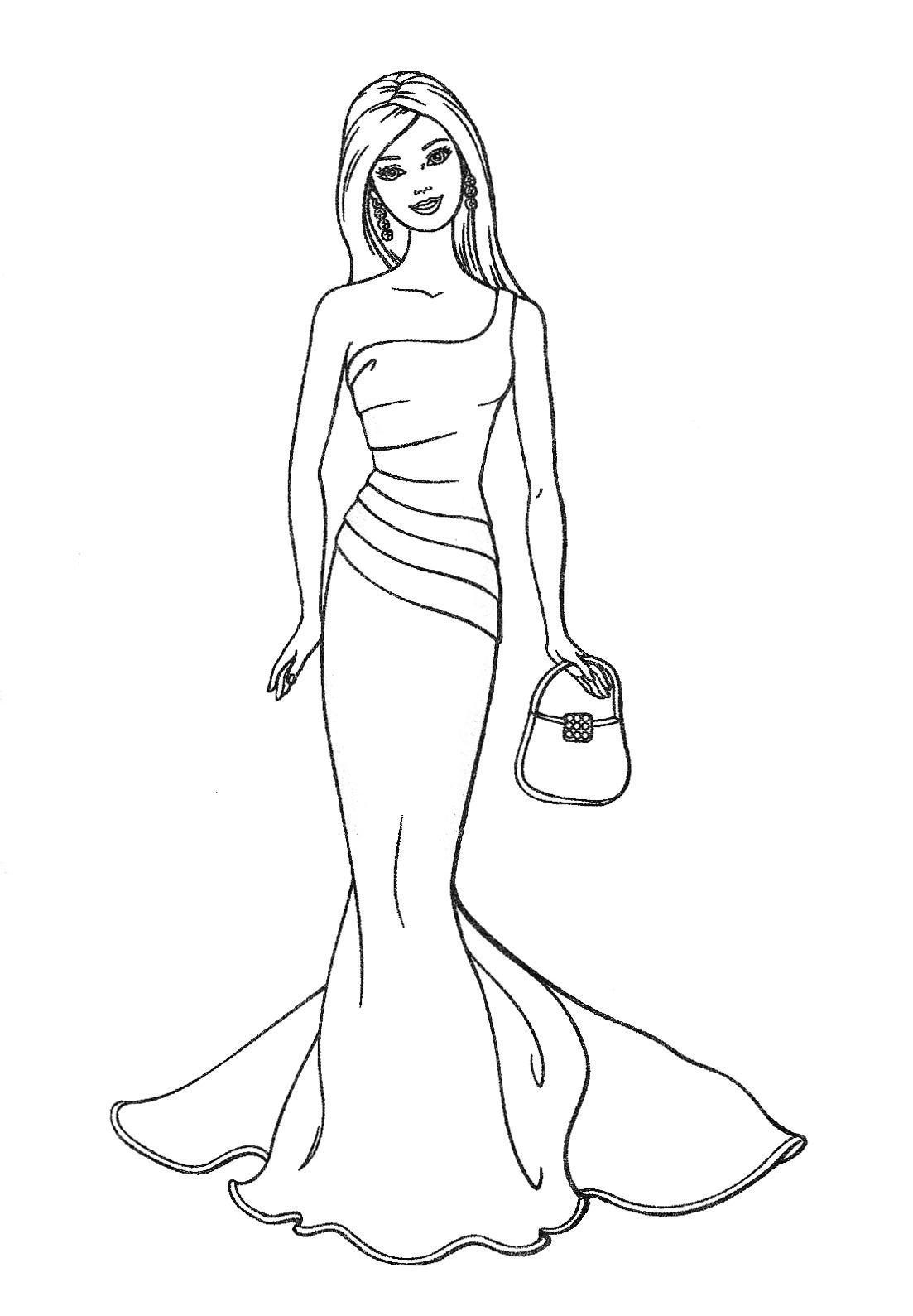 Barbie.com Coloring Pages
