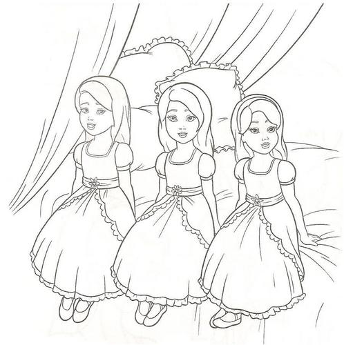 Filem Barbie kertas dinding called Barbie coloring pages
