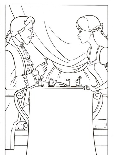 Barbie pelikula wolpeyper containing a cleaver entitled barbie coloring pages
