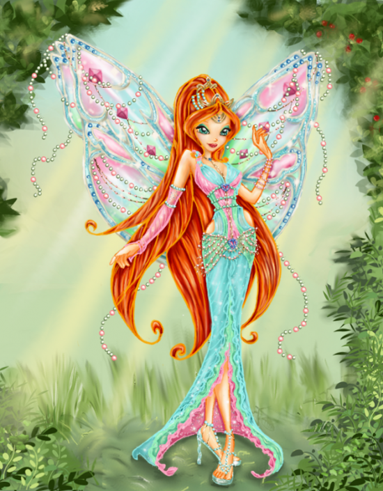 The Winx Club bloom  Winx Club Nymphix