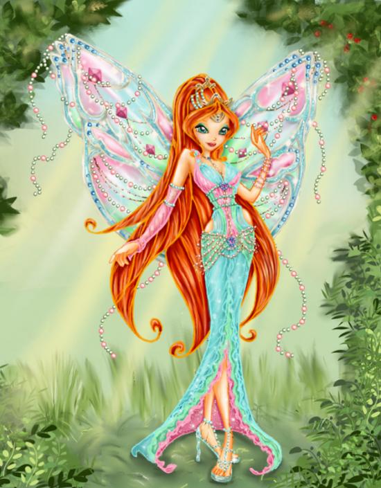 Конкурс Winx Clab Смешная Мисс Весна и игра одевалка!