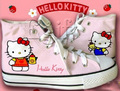 cute hello kitty shoes - hello-kitty photo