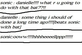 danielle kills sonic XD