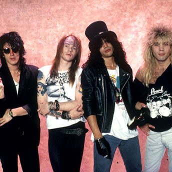 The 80s wallpaper titled guns n roses