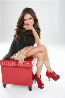 Nina photoshoot for the magazine Girls Life