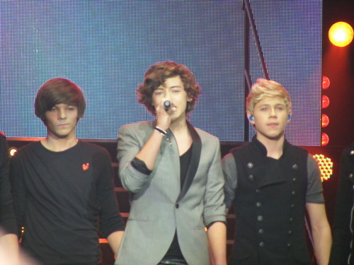 Louis Harry And Niall At The X Factor Tour One